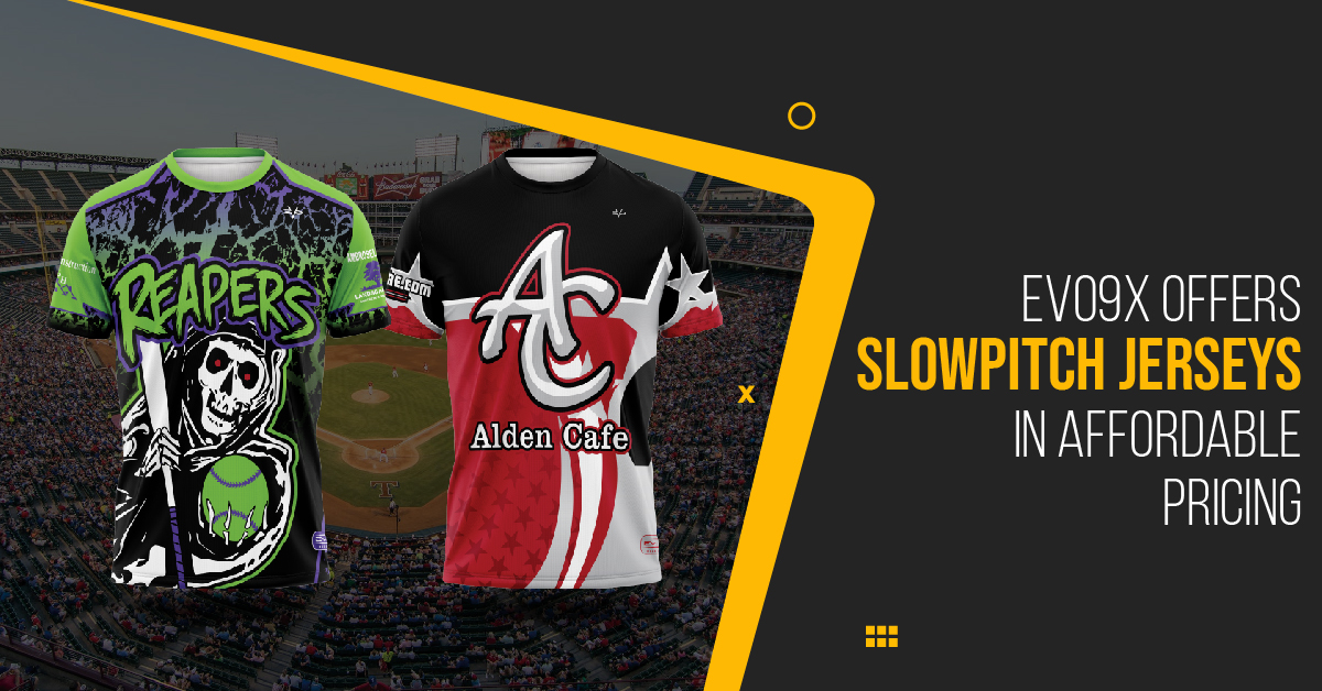 Evo9x Offers Slowpitch Jerseys in Affordable Pricing, Latest News Adda